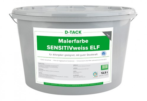 Malerfarbe SENSITIVweiss ELF